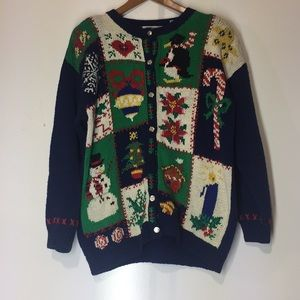 Vintage Ugly Christmas Knit Northern isles Sweater